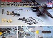Hasegawa X48-9 Luftwaffe Pilot figures and Equipment W.W.II (1:48)
