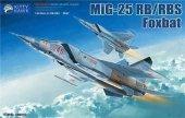 Kitty Hawk 80113 MIG-25 RB/RBT Foxbat 1/48