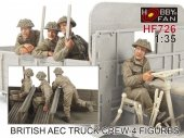 Hobby Fan HF726 British AEC Truck crew-4 figures