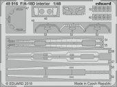 Eduard 49916 F/ A-18D interior KINETIC MODEL 1/48