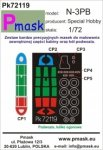 P-Mask PK72119 Nortrop N-3PB - Special Hobby (1:72)
