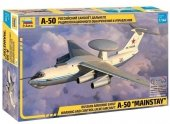 Zvezda 7024 Russian AWACS Aircraft Beriev A-50 MAINSTAY 1/144