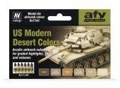 Vallejo 71209 US Modern Desert Colors (6x17ml)