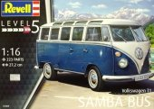 Revell 07009 VW Typ 2 T1 Samba Bus 1/16