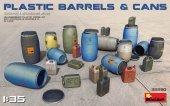 MiniArt 35590 Plastic Barrels & Cans 1/35