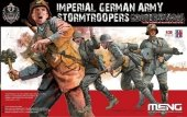 Meng Model HS-010 Imperial German Army Stormtroopers WW I 1/35