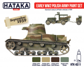 Hataka HTK-AS11 Early WW2 Polish Army paint set