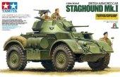 Tamiya 89770 British Armored Staghound - Mk.1 Car (1:35)