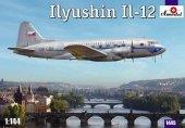 Amodel 1445 Il-12 Czech Version (1:144)