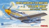 Meng LS-009 North American P-51D Mustang Yellow Nose 1/48