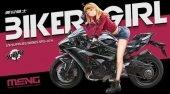 Meng Model SPS-074 Biker Girl 1/9