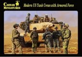 Caesar H103 Modern US Tank Crews with Armored Force 1/72