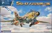 Kitty Hawk 80147 Sukhoi Su-17 /22UM-3K ( Polskie kalki ) 1/48