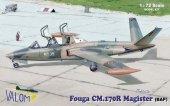 Valom 72087 Fouga CM.170R Magister (Belgian AF) 1:72