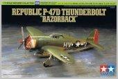 Tamiya 60769 Republic P-47D Thunderbolt Razorback 1:72