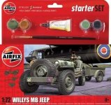 Airfix 55117 Willys MB Jeep - Starter Set 1/72