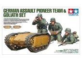 Tamiya 35357 German Assault Pioneer Team / Goliath Set 1/35