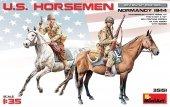 MiniArt 35151 U.S. HORSEMEN. NORMANDY 1944 (1:35)