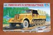 Trumpeter 07203 German Sd.Kfz.9 18 ton Heavy Halftrack Early Type (1:72)