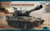 Panda Hobby 35039 M8 Armoured Gun System 1/35
