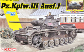 Dragon 6954 Pz.Kpfw. III Ausf.J Initial/Early Production 2in1 1/35