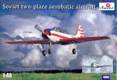 A-Model 04806 YAK-52 Soviet two-place aerobatic aircraft 1:48