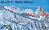 Valom 72091 Fouga CM.170R Magister (AAF, Brazil) 1:72