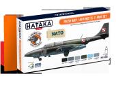 Hataka HTK-CS46 Polish Navy / Air Force TS-11 paint set