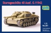 Unimodels 281 Sturmgeschutz 40 Ausf. G / 1942 1/72