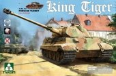 Takom 2074S King Tiger Sd.Kfz.182 PORSCHE TURRET / Full Interior w/new track 1/35