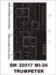 Montex SM32017 Mi-24 TRUMPETER 1/32