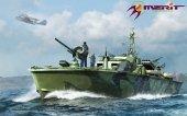 Merit 64801 U.S. Navy Elco 80 Motor Patrol Torpedo Boat Late Type (1:48)
