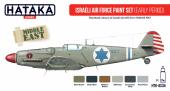 Hataka HTK-AS34 Israeli Air Force paint set (early period)