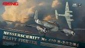 Meng Model LS-004 MESSERSCHMITT Me 410 B-2/U2/R4 Heavy Fighter