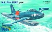 Valom 72085 North American FJ-1 Fury (NAR) 1:72