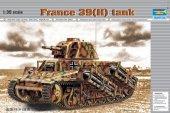 Trumpeter 00352 France 39(H) TANK SA 38 37mm gun (1:35)