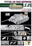 Dragon 3572 Egyptian Su-100 Tank Destroyer- The Six Day War (1:35)
