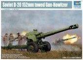 Trumpeter 02333 Soviet D-20 152mm towed Gun-Howitzer (1:35)