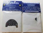 Yahu YMA7220 Me 109 F & early G (Zvezda / AZmodel) 1:72