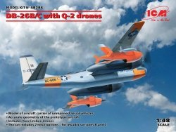 ICM 48286 DB-26B/C with Q-2 drones 1/48