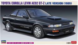 Hasegawa 20486 Toyota Corolla Levin AE92 GT-Z Late Version (1989) 1/24