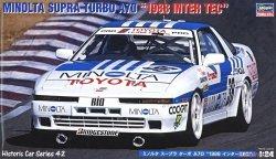 Hasegawa HC42 Minolta Supra Turbo A70 1988 Inter Tec 1/24