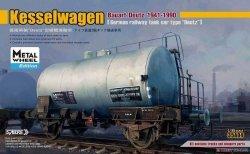 Sabre 35A04M Kesselwagen Bauart Deutz (1941-1990) - Metal Whell Edition 1/35