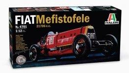 Italeri 4701 FIAT MEFISTOFELE 21706 c.c. (1:12)