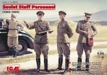 ICM 35612 Soviet Staff Personnel (1943-45) (1:35)