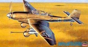 Hasegawa JT54 JU-87 G-2 Stuka (1:48)