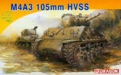 Dragon 7313 Sherman tank M4A3 105mm HVSS (1:72)