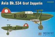 Eduard 7445 Avia Bk-534 Graf Zeppelin 1/72