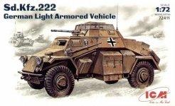 ICM 72411 Sd.Kfz.222 (1:72)