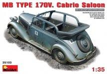 MiniArt 35103 MB YPE 170V. CABRIO SALOON (1:35)